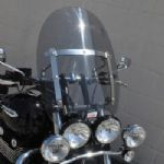 TRIUMPH Thunderbird Storm 1700 Custom Cruiser Screen: Clear or Light Grey. Includes Fitting Kit.